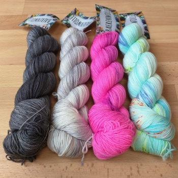 Amazing yarn from Baerenwolle