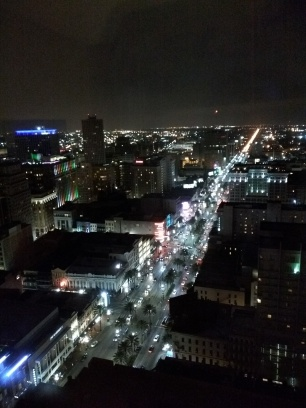 Canal Street from the 38th floor