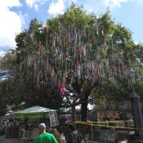The Bead Tree on Jackson Square