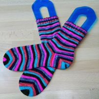 Smooth Operator Sock, Nomadic Yarns in Sock Tawk