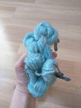 Cozy Rabbit Farm Handspun Hand Dyed Angora